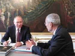 Путин: Австрия поддерживает планы России по поставкам газа в Европу - «Новости дня»