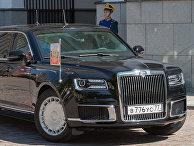 The Telegraph (Великобритания): Владимир Путин демонстрирует новый президентский лимузин «Аурус Сенат» — но выдерживает ли он сравнение со «Зверем» Дональда Трампа? - «ЭКОНОМИКА»