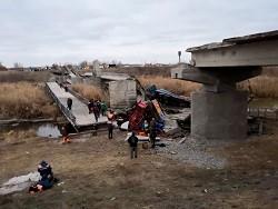 Под Воронежем при обрушении моста, прослужившего почти полвека без ремонта - «Общество»