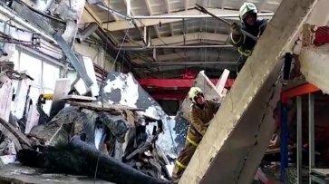 Кровля на подмосковном заводе обрушилась из-за работ по утеплению - «Происшествия»