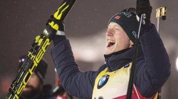 Йоханнес Бё возглавляет зачет спринтов с Кубке мира; Прима – 21-й - «Биатлон»