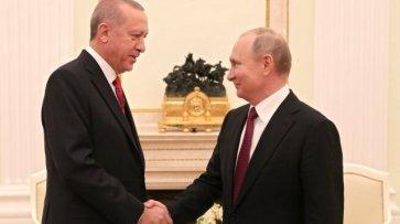 Эрдоган проведет в Сочи двусторонние переговоры с Путиным - «Происшествия»
