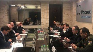 Министр обороны Армении обсудил сглавой «Ростеха» вопросы сотрудничества - «Новости Дня»