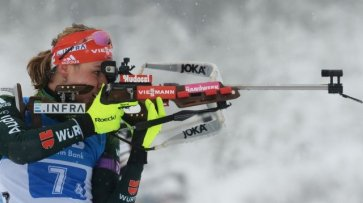 Немецкая биатлонистка Херрман выиграла гонку преследования на этапе КМ - «Происшествия»