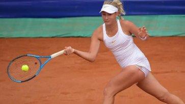 Теннисистка Потапова остановилась в шаге от финала турнира в Будапеште - «Новости дня»