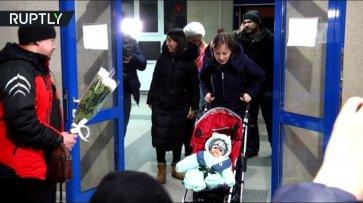 В Магнитогорске встретили спасённого при обрушении дома Ваню Фокина - (видео)