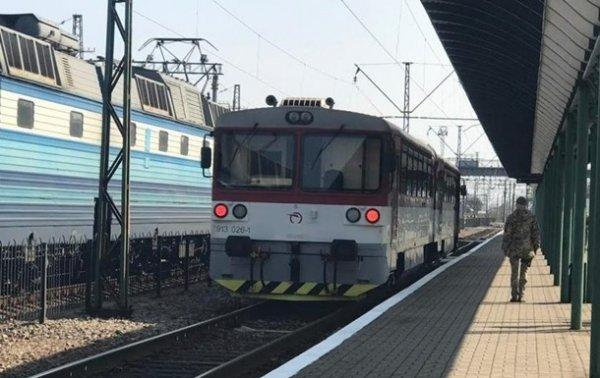 Поезд Мукачево - Кошице совершил тестовый рейс - (видео)